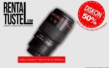 Promo Sewa Lensa